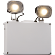 EMTWIN65 2 x 3 Watt 450lm LED Non Maintained IP65 Twinspot